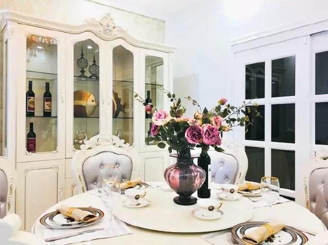 浮光掠影丨110㎡经典欧式风,别墅般的高雅和奢华质感!