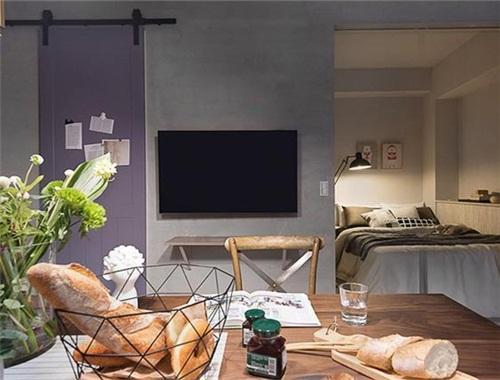 这个美女屋主太任性!40平扔掉沙发,做成0室1厅,竟被放大了好几倍!