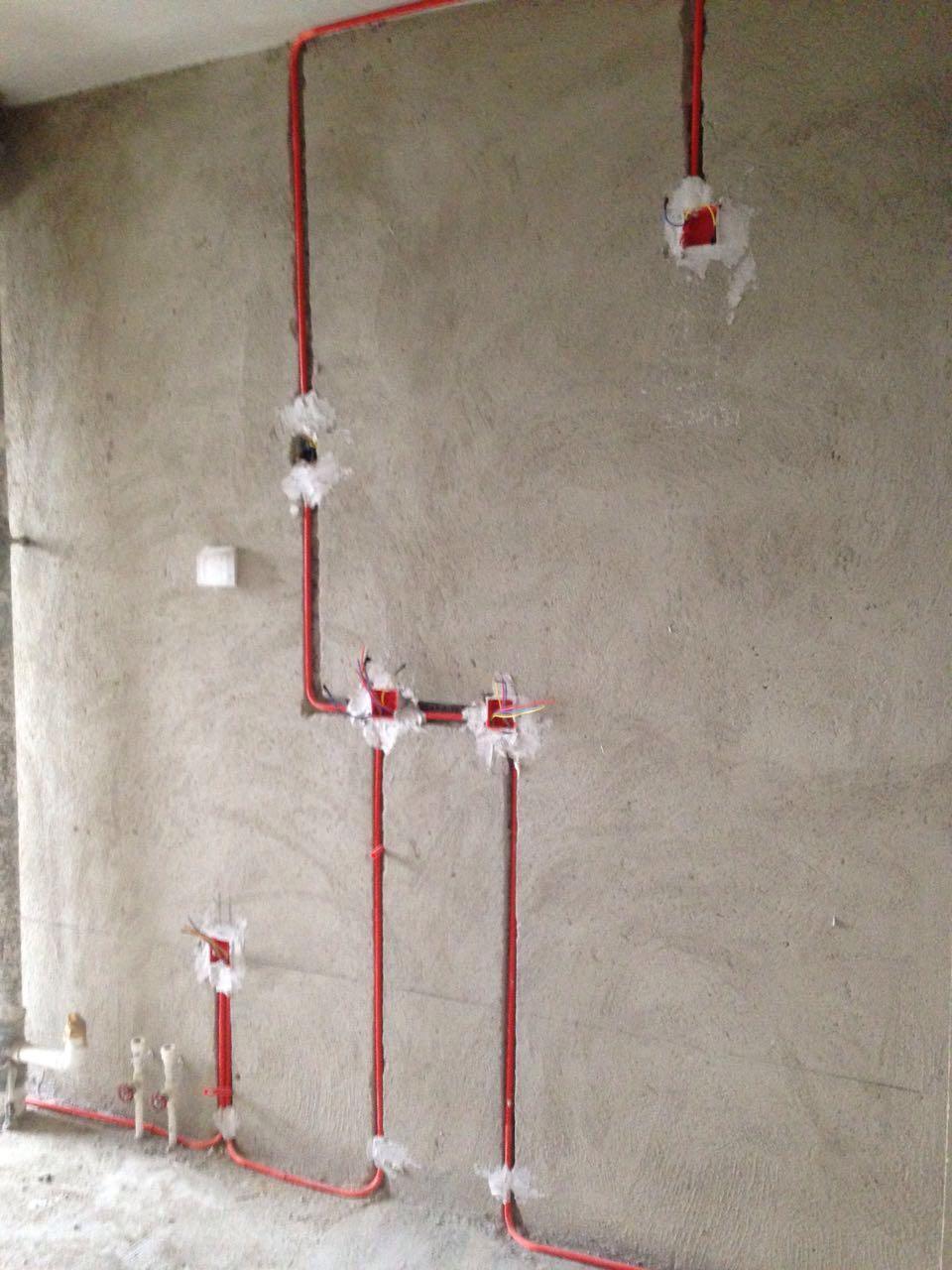 水电改造横向开槽