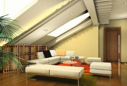 家庭装修的亮点-阁楼装修发挥想象力