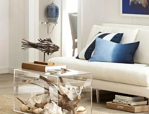 潮人都在用透明家具,轻松打造夏日清凉感