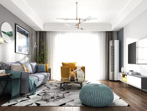 客厅的品质高不高,看你家的地毯就知道了