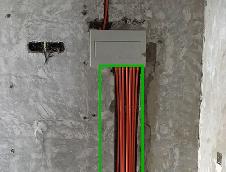 保晶丽园水电线路改造