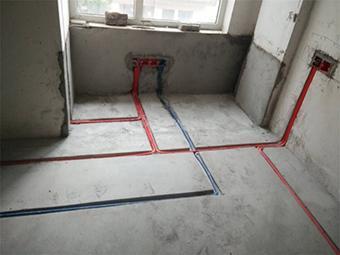 观澜国际标准规整的水电线路施工