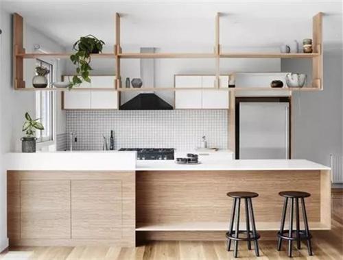 开放式厨房是小面积厨房救星?先把这些问题解决了吧!