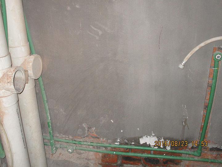 春江花园二期水电验收现场