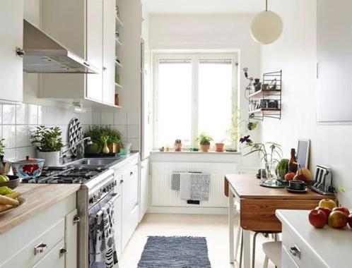 小厨房要这么设计!五平米以内的厨房设计要点
