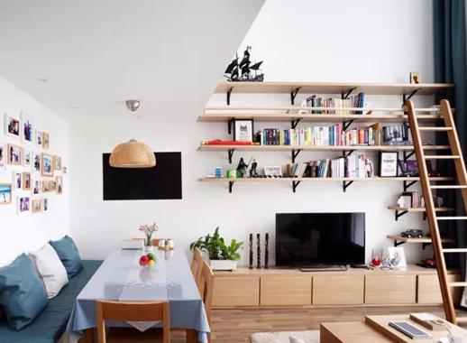 75㎡日式简约婚房设计,巧妙划分空间,让小日子自然又舒适!