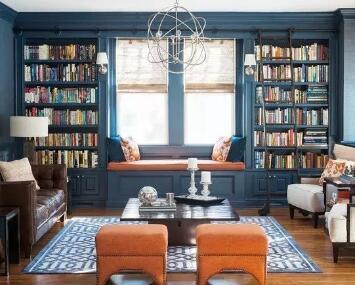"""10款""""爸气""""外露的书房,你家老干部一定喜欢"""