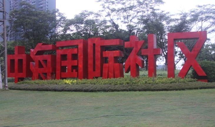 中海国际社区竣工验收--吴龙武工长