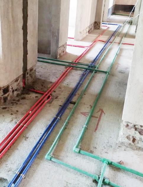 怎样才是标准的水电施工——范建春工长瀚林学府水电展示