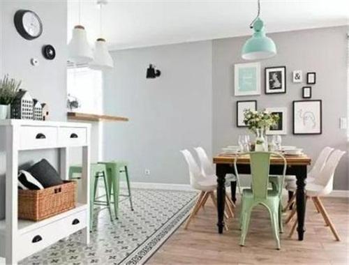 地板和家具颜色这么搭配,你家也能美过网红家居照骗