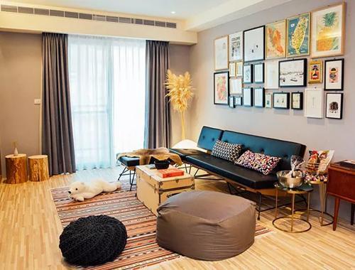 小夫妻106㎡的温馨之家,家具都是旅行带回来的!