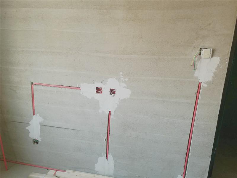 格林华园水电装修现场