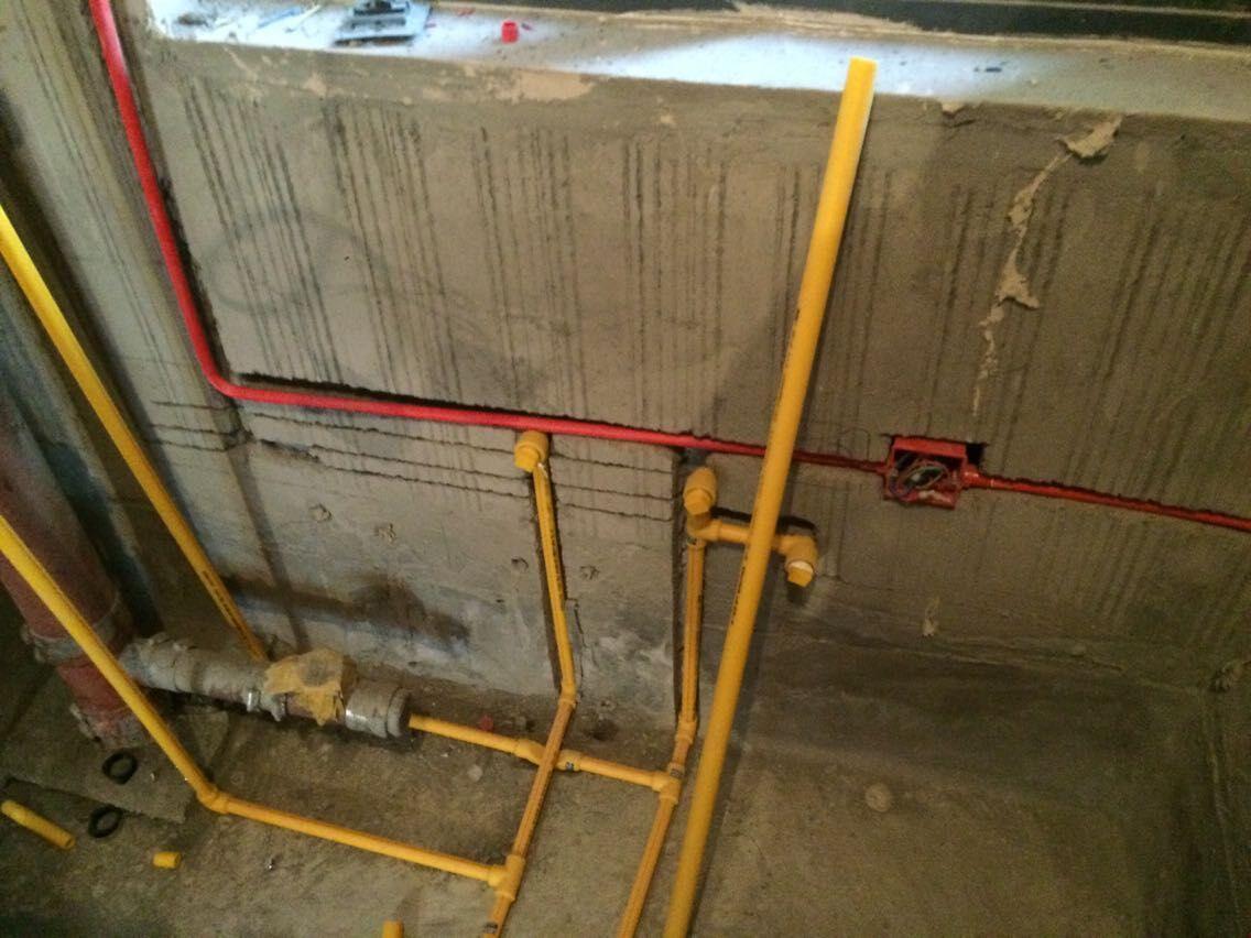 水电改造施工现场