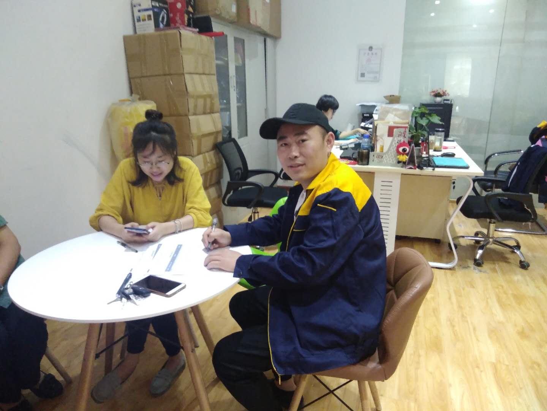 新浪装修&抢工长汪进贤成功签约河西区 惠众家园