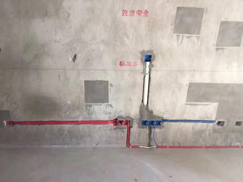 成贤公寓水电施工现场