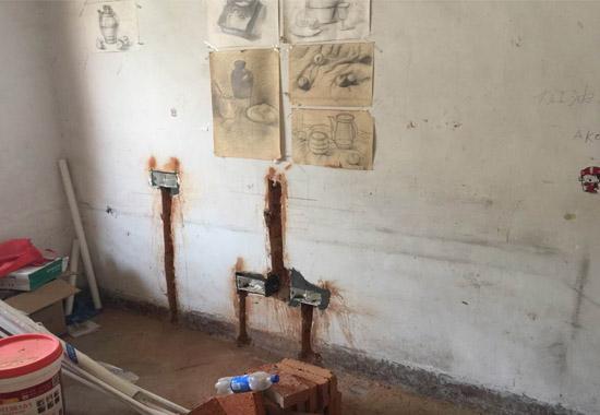 分析荣电小区水电施工装修现场