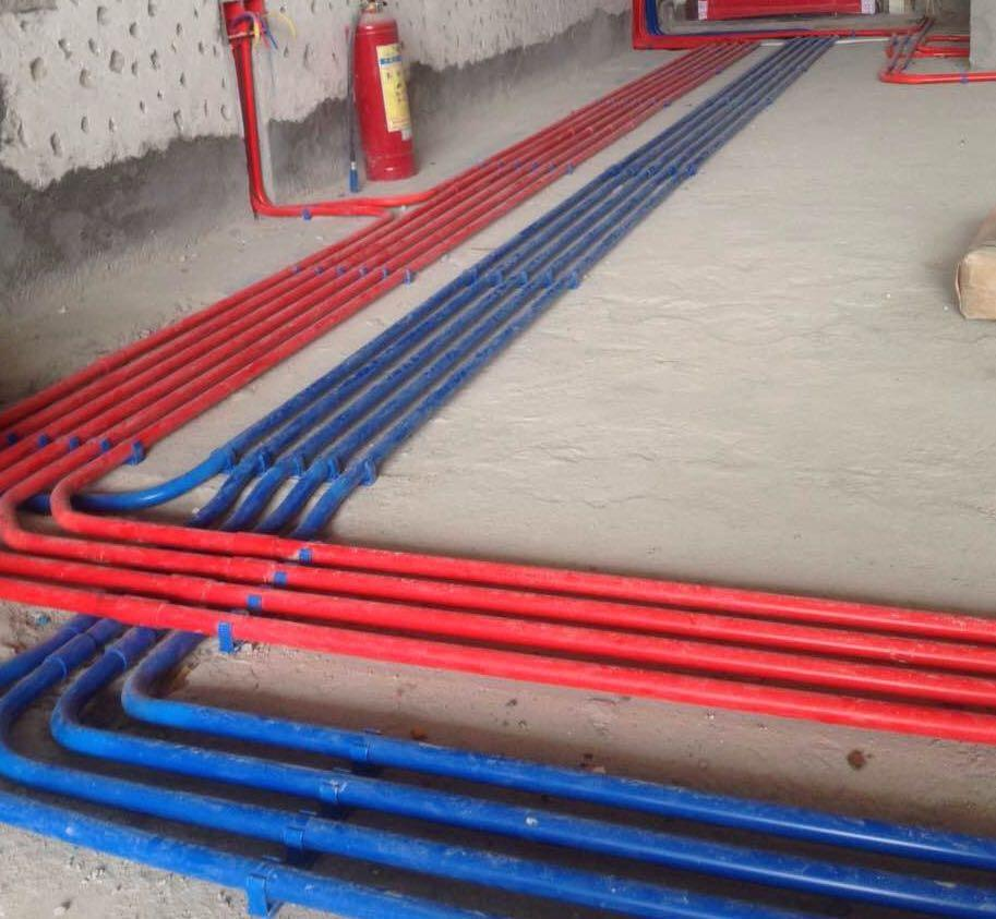 水电走线十分规范