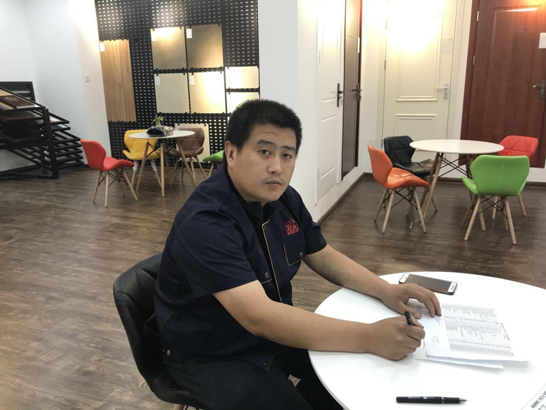 新浪装修&抢工长李辉成功签约 东丽区 金华里