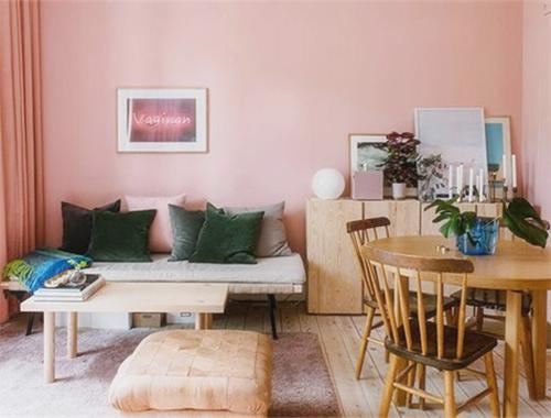 宇宙最甜少女心公寓!30平满屋都是粉色,让单身狗心甘情愿独居