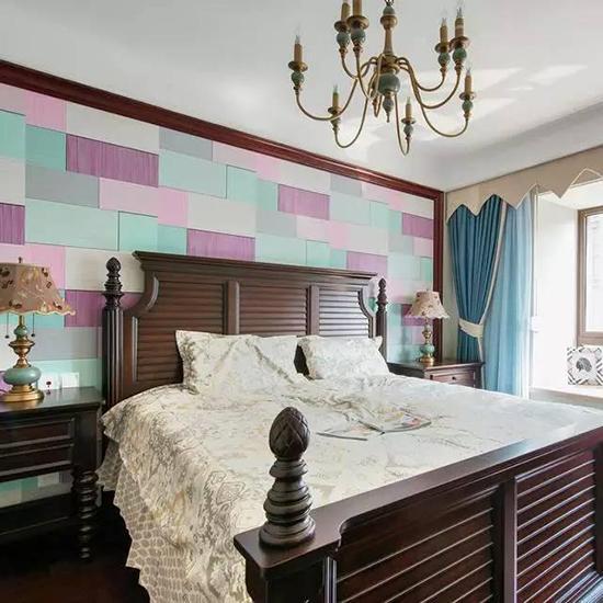 卧室墙纸这么搭配最佳 淡雅还是卧室的最好基调
