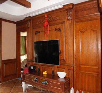 护墙板电视墙装修效果图