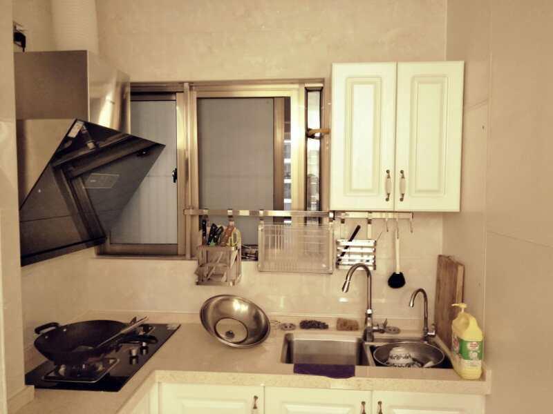 用成果让客户信服——厨房竣工现场