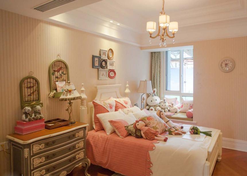 一眼心动 女孩子都喜欢的温馨淡雅小卧室