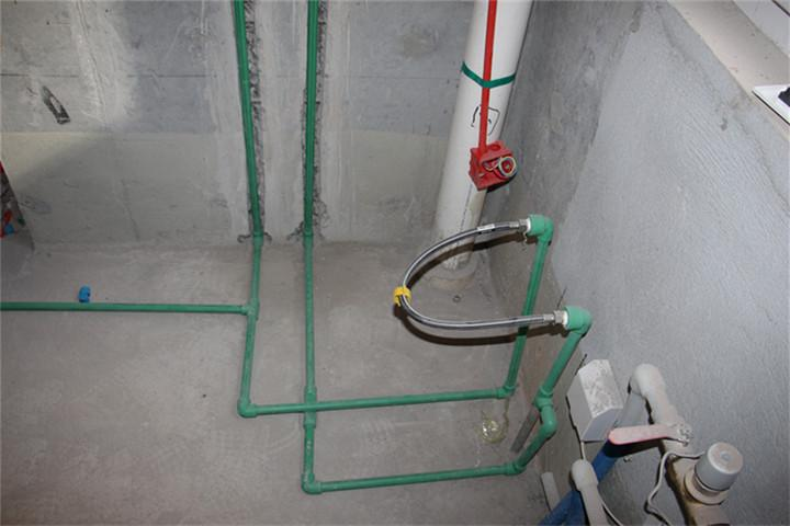 张建保利拉菲公馆水电验收现场