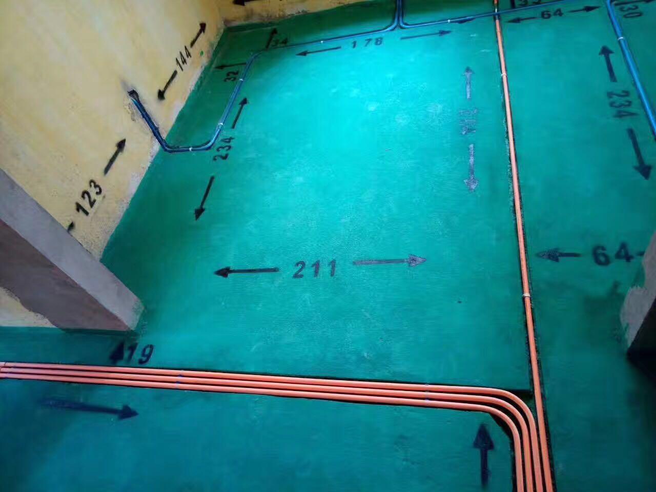 程龙工长水电施工现场展示