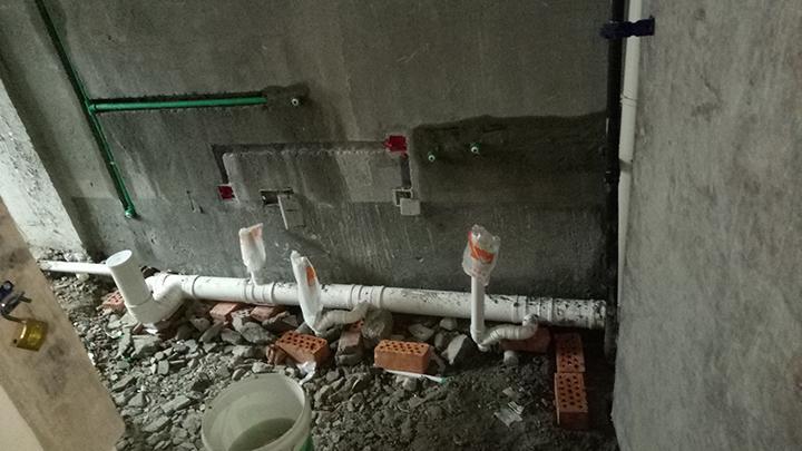 水电改造施工现场你想看吗