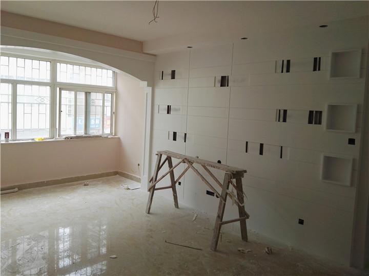 背景墙巧设计 为居室增添生气