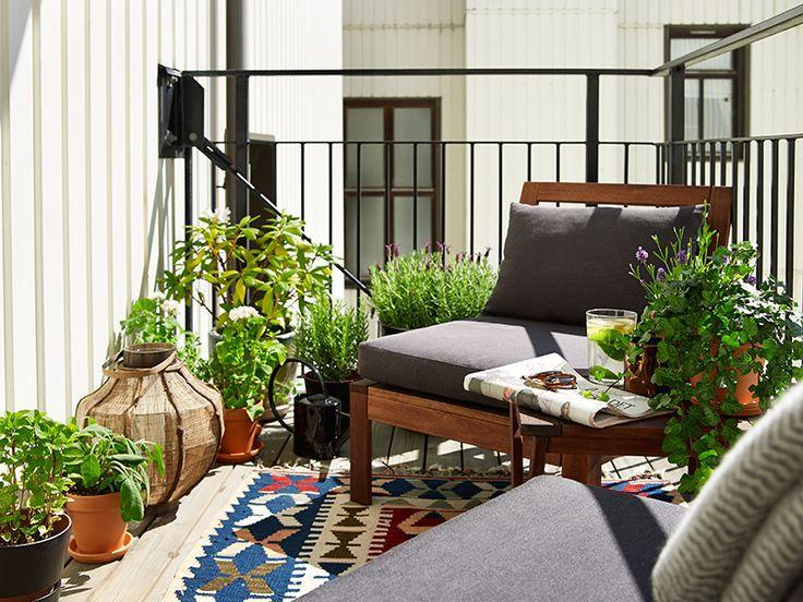 2平米阳台空间变身生活区  15种方案随心选