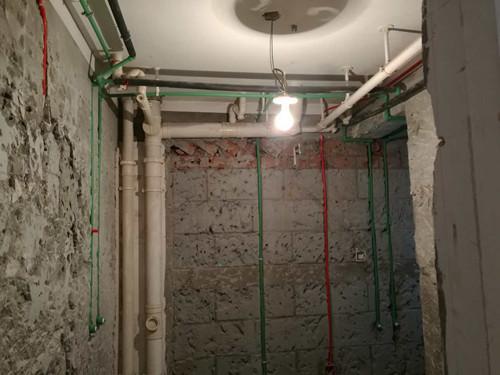 水电线管横平竖直