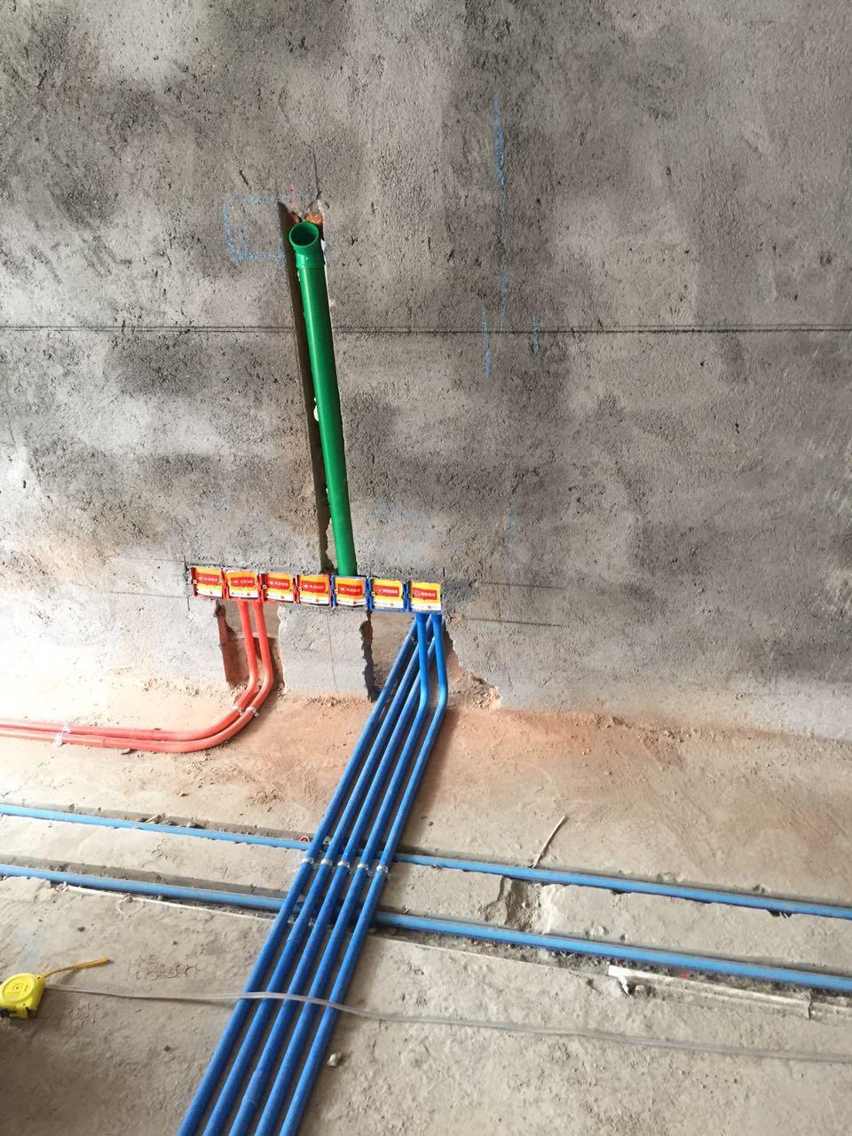 华润橡树湾7#A梯水电验收