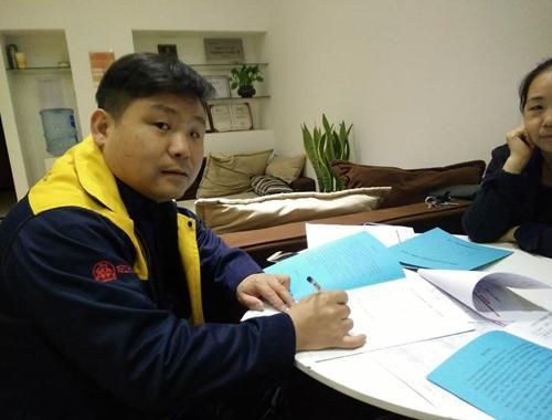 丁士贤工长签约南开区黄河道广林园