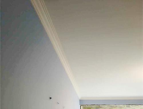 石膏线的两种安装方法