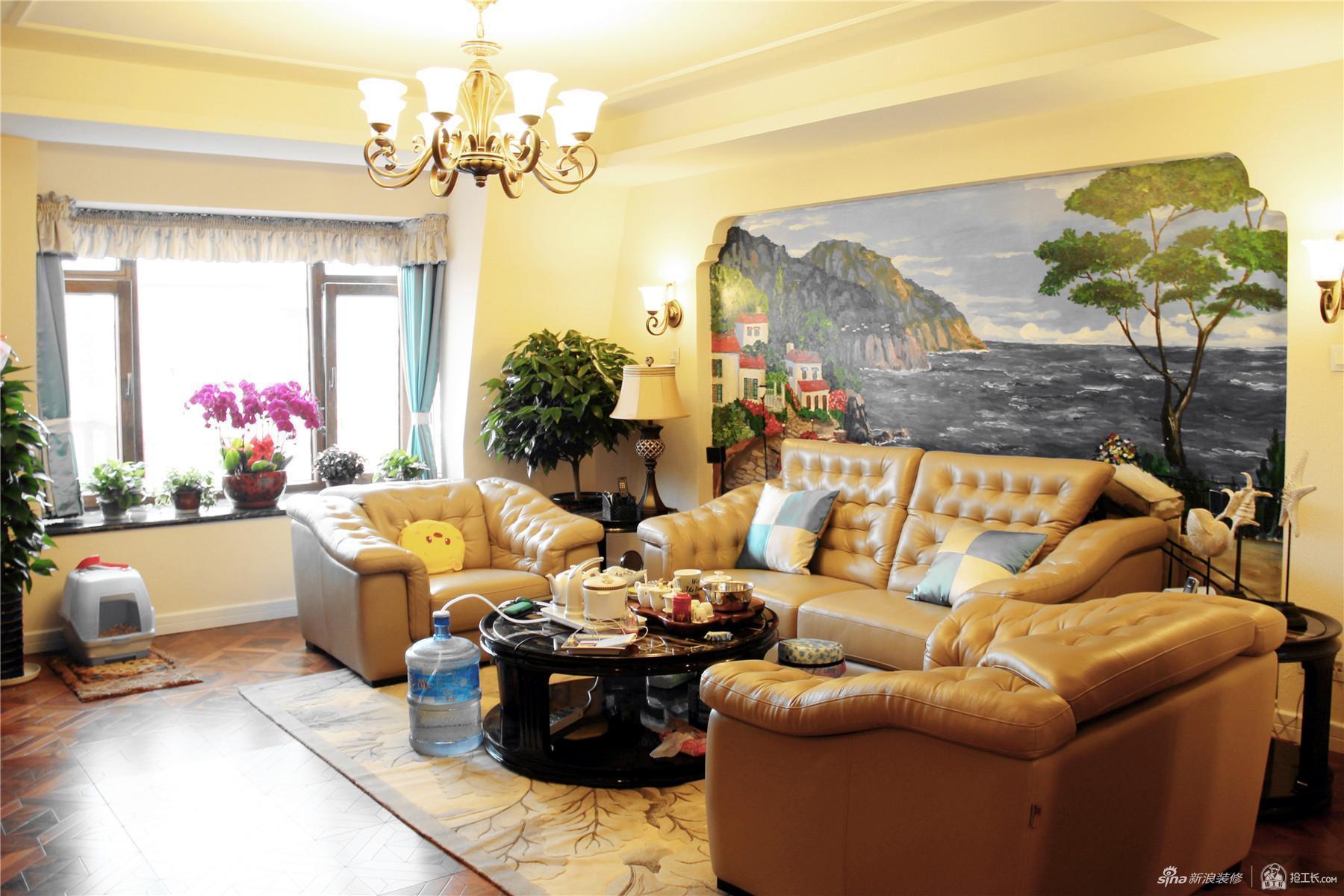 复古托斯卡纳风格四居室