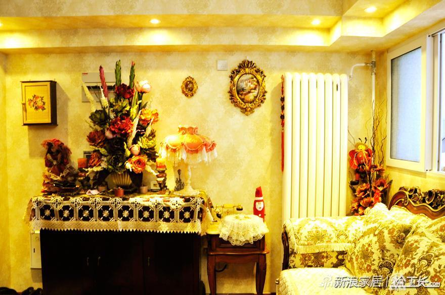 巴洛克风家装 畅享甜美复古空间