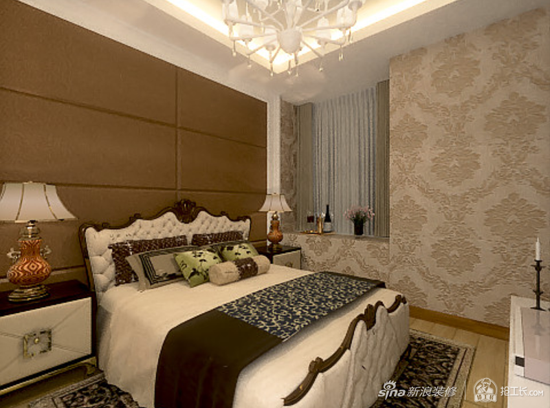 张新安绿地国际花都2室装修案例