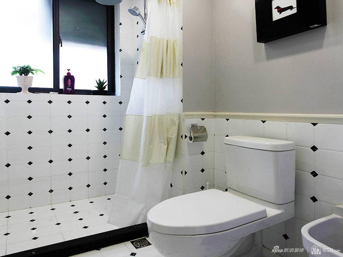 70平欧式二居,干湿分离卫生间