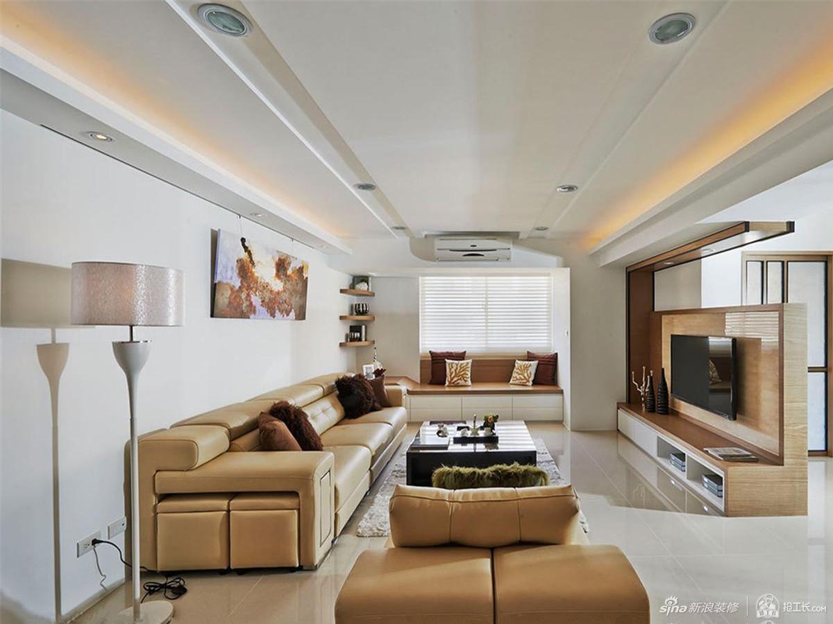 现代宽敞明亮三居室