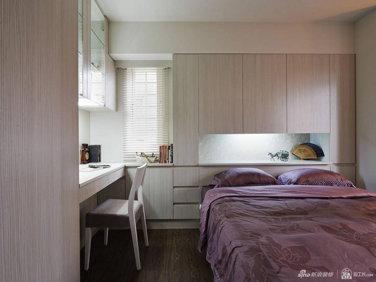 一体成型塑造简约卧室