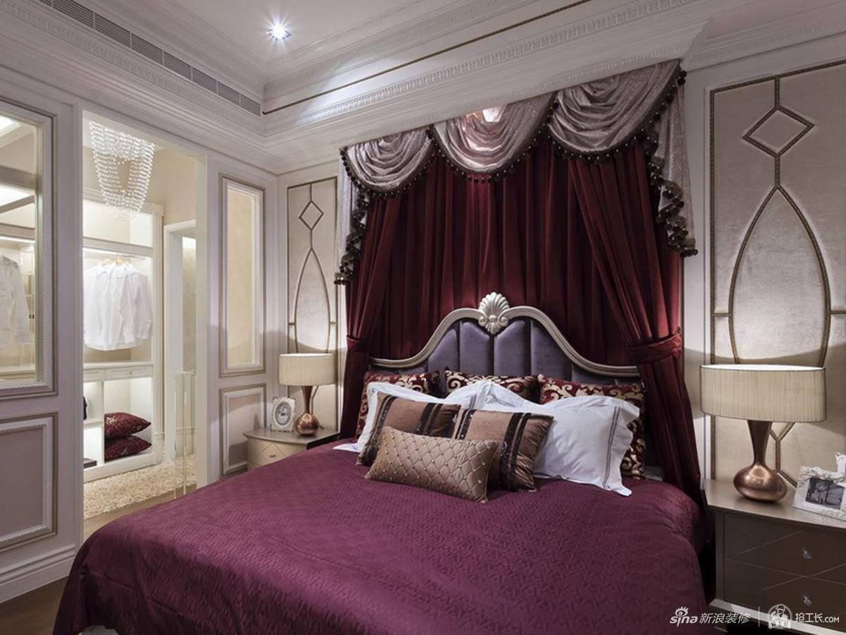 典雅风格展现卧室舒适环境