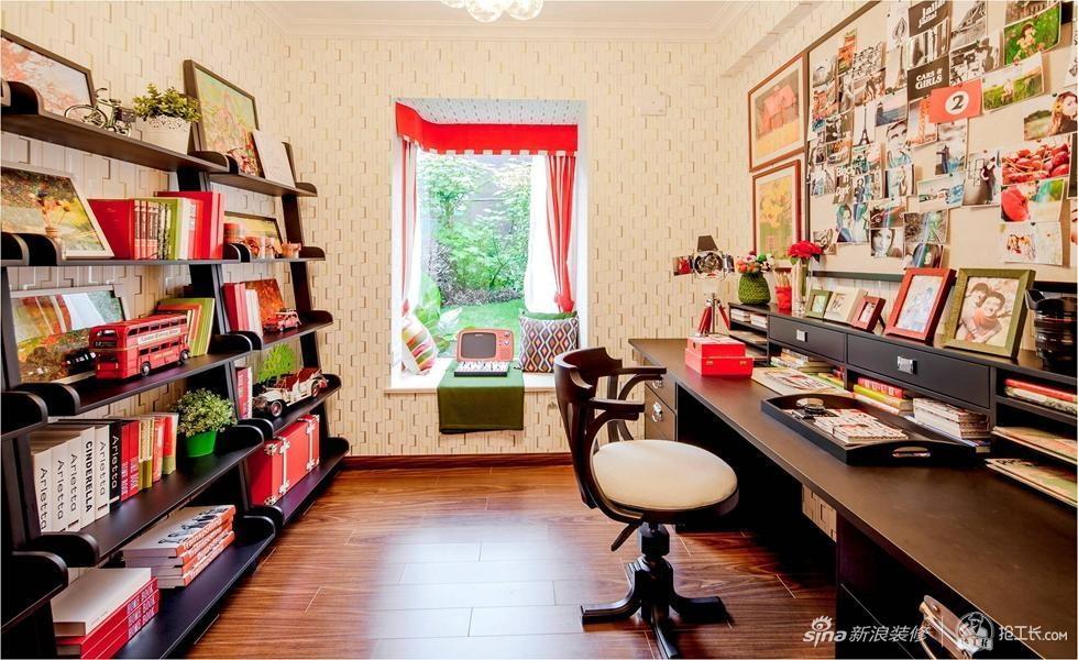 70平红色炫彩温暖小屋