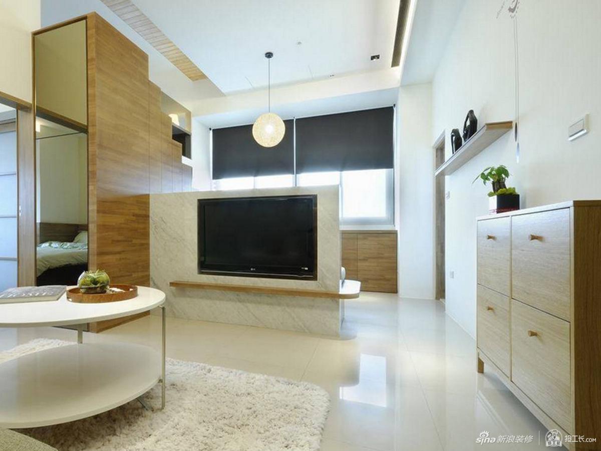 简单自然单身公寓