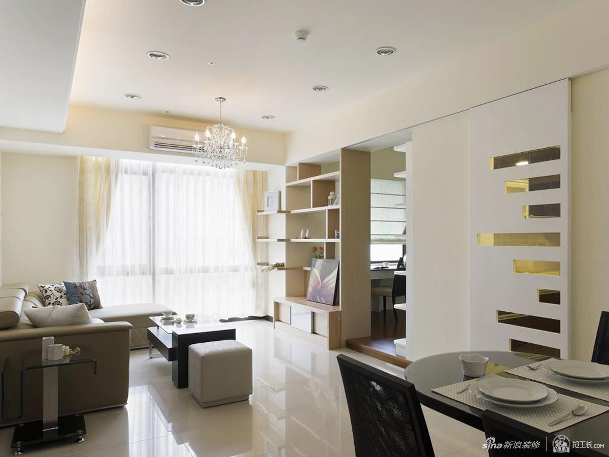 73平现代两居室