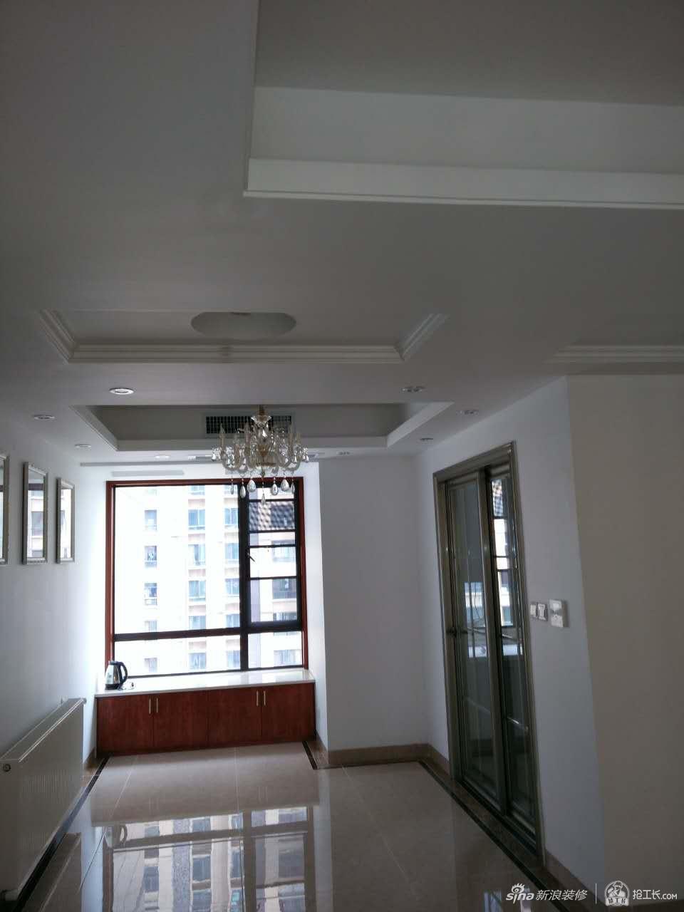 120平3室中式简装