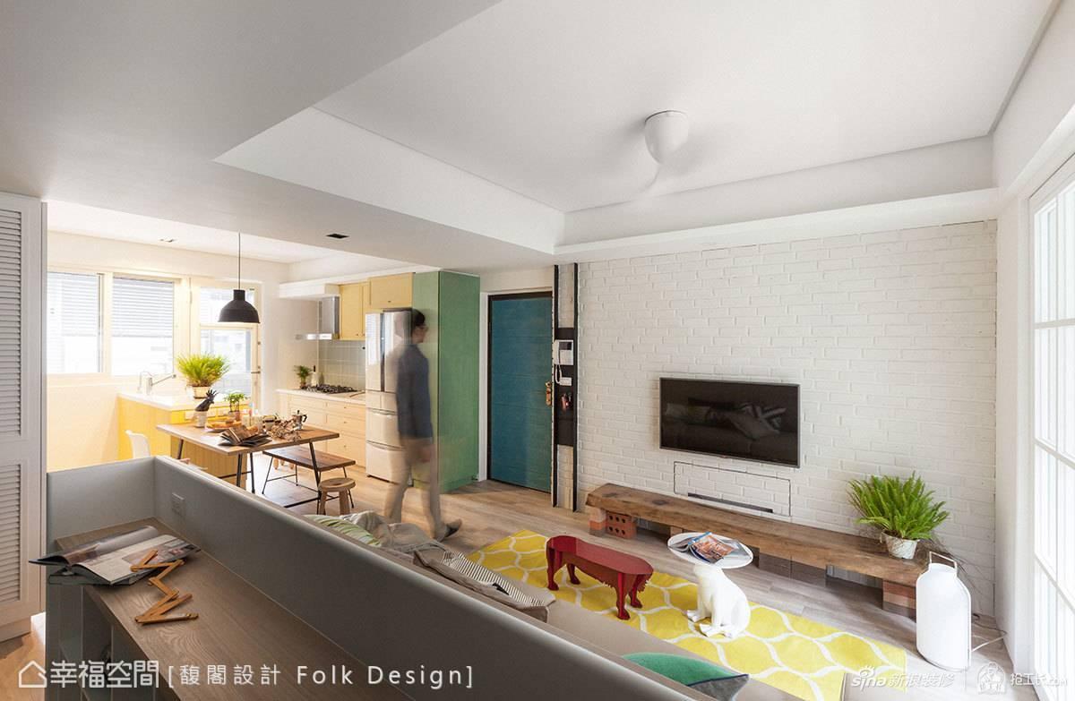 现代风的客厅